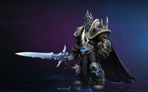 Picture sword, Lich King, blizzard, world of warcraft, heroes of the storm