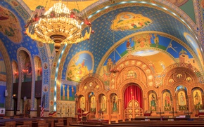 Wallpaper Chicago, USA, Il, religion, the Church of Saints Vladimir and Olga, the Ukrainian Catholic parish