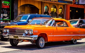 Picture style, street, Chevrolet, convertible, classic