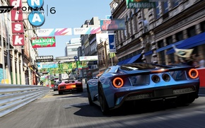 Picture the game, supercars, Forza Motorsport 6, Ford gt 2015