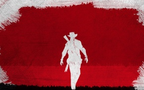 Picture Django unchained, django-unchained, The red-and-white picture, Movie+Style