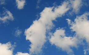 Picture Clouds, Sky, Blue