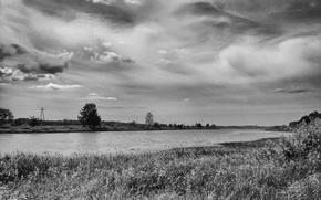 Picture landscape, Belarus, Litvin