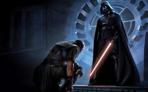 Wallpaper Star Wars, Vader, Star Wars, Lightsaber