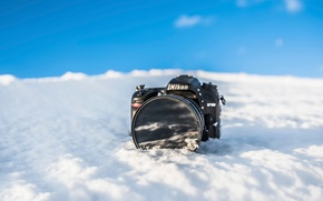 Picture snow, Nikon, Freeze Camera
