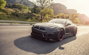 Picture tuning, nissan, in motion, gt-r, prior design