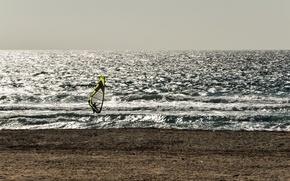 Wallpaper sea, windsurf, sport