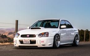Picture Subaru, Impreza, WRX, STI, White '2000–05