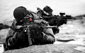 Wallpaper weapons, special forces, soldiers, military