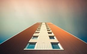 Wallpaper the sky, the city, house, Windows, skyscraper