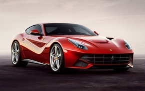 Picture red, supercar, ferrari, Ferrari, the front, beautiful car, f12, berlinetta, Berlinetta, F12