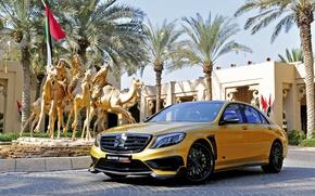 Picture Mercedes-Benz, sculpture, Brabus, Mercedes, BRABUS, S-class, W222, Rocket 900