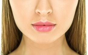 Wallpaper mouth, nose, woman, skin