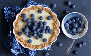 Picture berries, pie, blueberries