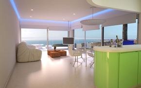 Picture interior, luxury, apartments, New