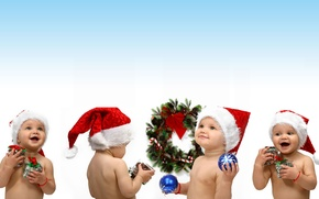 Picture joy, happiness, children, mood, holiday, new year, child, gifts, kids, new year, smile, gift, baby, …