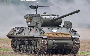 Picture tank fighter, (SAU), The second world war, M36, 90 mm, self-propelled gun, Jackson