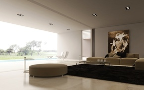 Picture design, room, interior, Ottoman