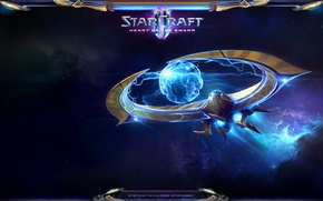 Picture Hurricane, StarCraft 2, Heart of the Swarm, Protoss