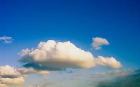 Wallpaper Cloud, the sky, blue