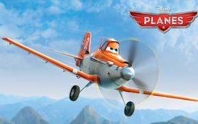 Wallpaper cartoon, wings, adventure, rally, wings, Walt Disney, animation, action, Walt Disney, adventure, airplane, air race, ...