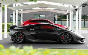 Wallpaper Sesto Elemento, Lamborghini, and, Lamborghini Urus