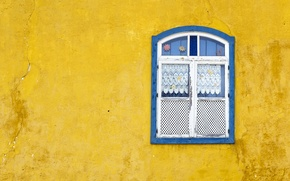 Wallpaper house, window, wall