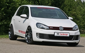 Picture car, volkswagen, golf, design, gti