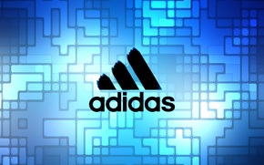 Picture blue, Adidas, Adidas