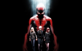 Picture may, spider man, mary jane, gwen stacy