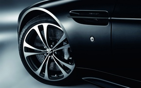 Picture Aston Martin, black, wheel