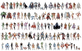 Picture Tomb Raider, Wonder Woman, Hulk, Batman, Wolverine, Punisher, Iron Man, Deadpool, Rogue, Green Lantern, Captain …