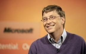Picture Glasses, Microsoft, Male, Bill Gates, Bill Gates, William Henry Gates III