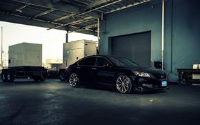 Picture profile, wheels, Honda, Accord, black, Honda, chord, Galpin