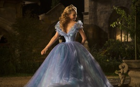 Picture Girl, Fantasy, Beautiful, Blue, Wallpaper, Family, Blonde, Woman, Cinderella, Year, Walt Disney Pictures, Movie, Film, …