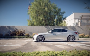 Picture tuning, profile, Hyundai, Coupe, stance, Genesis, Hyundai