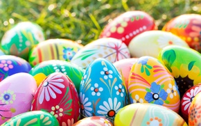 Picture Design, Easter, Eggs, Holidays