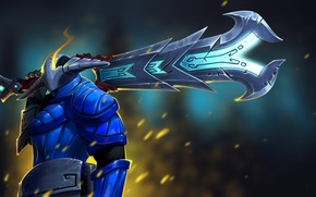 Picture sword, Dota 2, Sven, The Rogue Knight