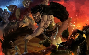 Picture undead, monster, anime, berserk, guts, zodd