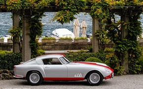 Picture retro, pier, classic, promenade, 1958, Tour de France, Ferrari 250 GT