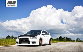 Picture Mitsubishi, Lancer, Evo, ISS Forged