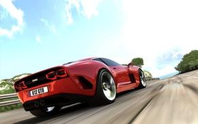 Picture auto, road Ferrari 612 GTO