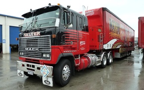 Picture truck, mack, racing, tractor, the truck, salter
