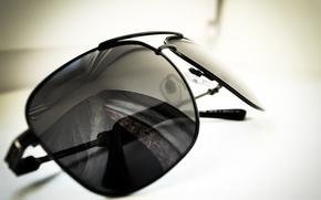 Picture macro, photo, black, glasses