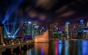 Picture night, Singapore, Marina Bay Sands