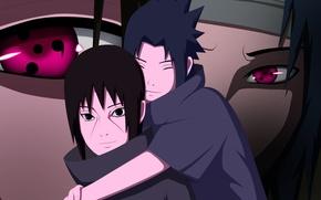 Picture brothers, Sasuke, naruto, Uchiha, itachi