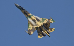 Picture fighter, dry, su-35S, the Russian air force, su-35s