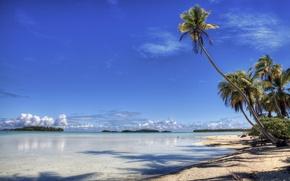Picture beach, Palma, shore, island, Paradise