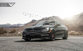 Picture Mercedes, Vorsteiner, AMG, Tuning, C63, Mercedes Tuning, Vorsteiner Mercedes-Benz C63 AMG