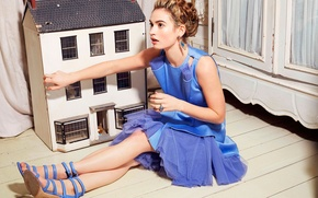 Picture house, photoshoot, Lily James, Lily James, New York Post